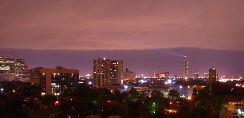 Uptown Houston Skyline
