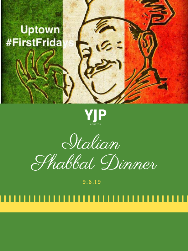Italian First Fridays Shabbat - website