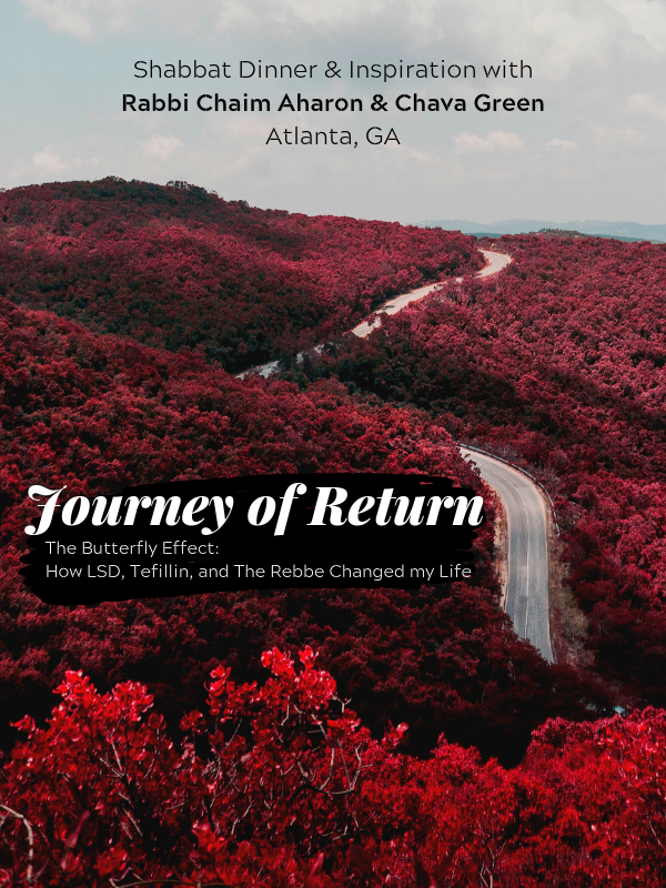 Journey of Return Shabbaton website